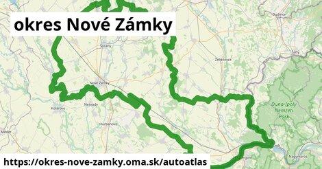 ikona Mapa autoatlas  okres-nove-zamky