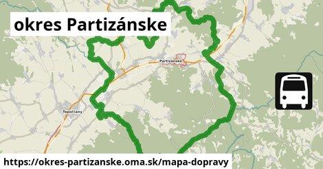 ikona Mapa dopravy mapa-dopravy v okres-partizanske