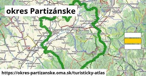 ikona Turistická mapa turisticky-atlas v okres-partizanske