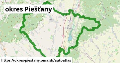 ikona Mapa autoatlas  okres-piestany