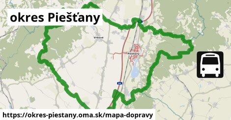 ikona Mapa dopravy mapa-dopravy  okres-piestany