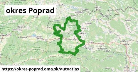 ikona Mapa autoatlas  okres-poprad