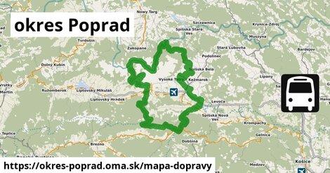 ikona Mapa dopravy mapa-dopravy  okres-poprad