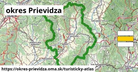 ikona Turistická mapa turisticky-atlas  okres-prievidza