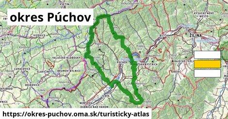 ikona Turistická mapa turisticky-atlas  okres-puchov