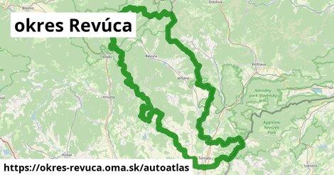 ikona Mapa autoatlas  okres-revuca