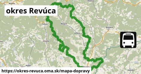 ikona Mapa dopravy mapa-dopravy  okres-revuca