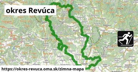 ikona okres Revúca: 34km trás zimna-mapa  okres-revuca