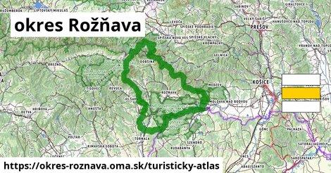 ikona Turistická mapa turisticky-atlas  okres-roznava