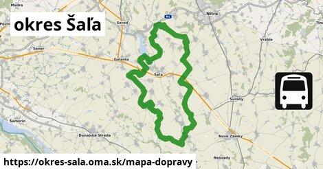 ikona Mapa dopravy mapa-dopravy  okres-sala