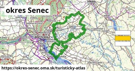 ikona Turistická mapa turisticky-atlas  okres-senec