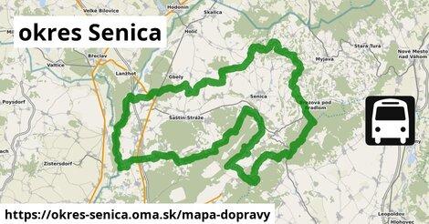 ikona okres Senica: 238km trás mapa-dopravy  okres-senica