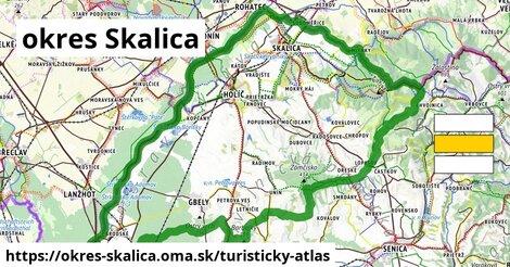 ikona Turistická mapa turisticky-atlas  okres-skalica