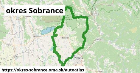 ikona Mapa autoatlas  okres-sobrance