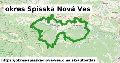 ikona Mapa autoatlas  okres-spisska-nova-ves