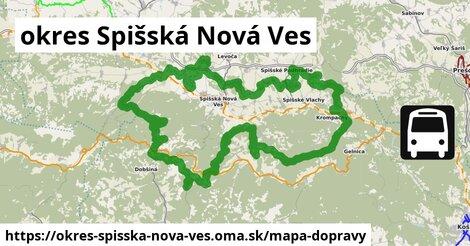 ikona Mapa dopravy mapa-dopravy  okres-spisska-nova-ves