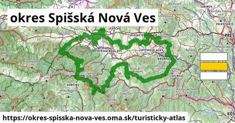 ikona okres Spišská Nová Ves: 528km trás turisticky-atlas  okres-spisska-nova-ves