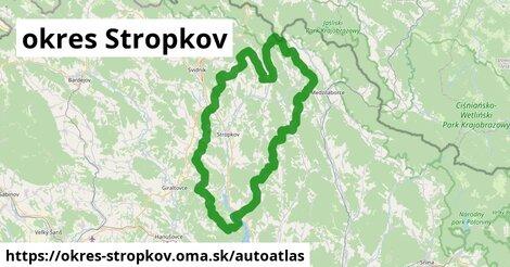 ikona Mapa autoatlas  okres-stropkov