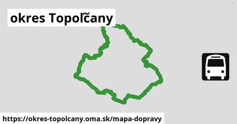 ikona Mapa dopravy mapa-dopravy v okres-topolcany