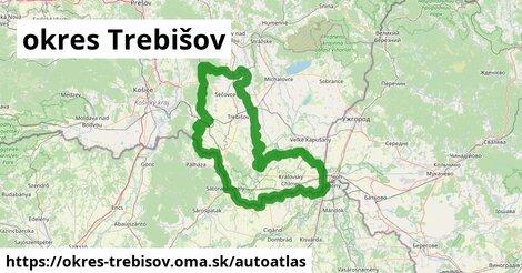 ikona Mapa autoatlas  okres-trebisov