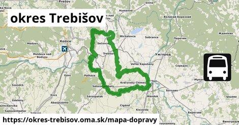 ikona Mapa dopravy mapa-dopravy  okres-trebisov