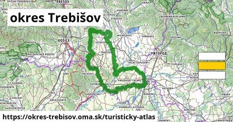 ikona Turistická mapa turisticky-atlas  okres-trebisov