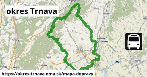 ikona Mapa dopravy mapa-dopravy  okres-trnava