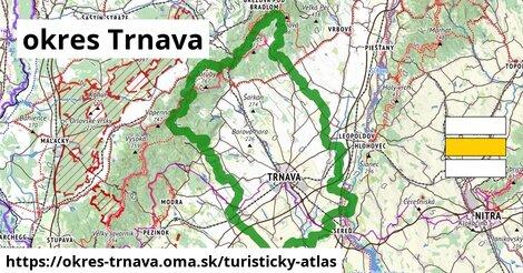 ikona okres Trnava: 203km trás turisticky-atlas  okres-trnava