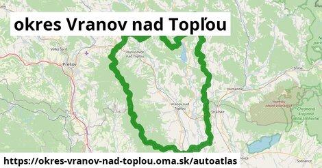 ikona Mapa autoatlas  okres-vranov-nad-toplou