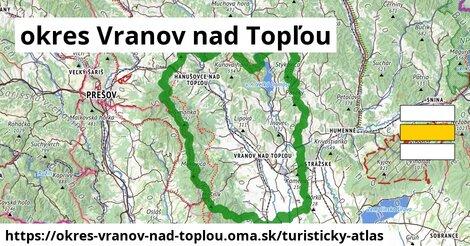 ikona Turistická mapa turisticky-atlas  okres-vranov-nad-toplou