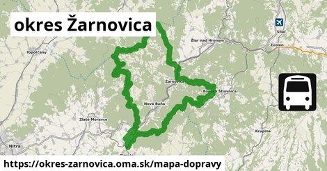 ikona Mapa dopravy mapa-dopravy  okres-zarnovica
