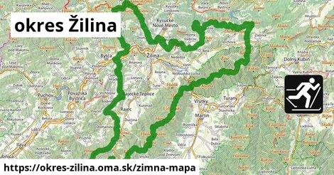 ikona Zimná mapa zimna-mapa  okres-zilina