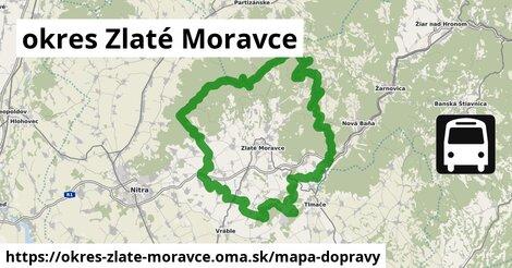 ikona Mapa dopravy mapa-dopravy  okres-zlate-moravce