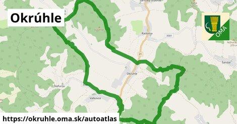 ikona Mapa autoatlas  okruhle