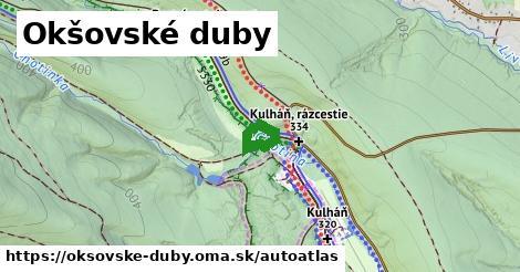 ikona Mapa autoatlas  oksovske-duby