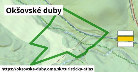 ikona Turistická mapa turisticky-atlas  oksovske-duby