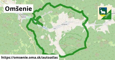 ikona Mapa autoatlas  omsenie
