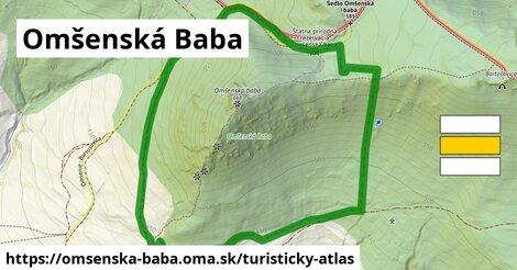 ikona Turistická mapa turisticky-atlas  omsenska-baba