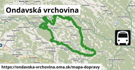 ikona Mapa dopravy mapa-dopravy  ondavska-vrchovina
