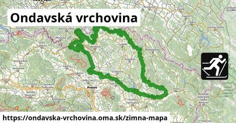 ikona Zimná mapa zimna-mapa  ondavska-vrchovina