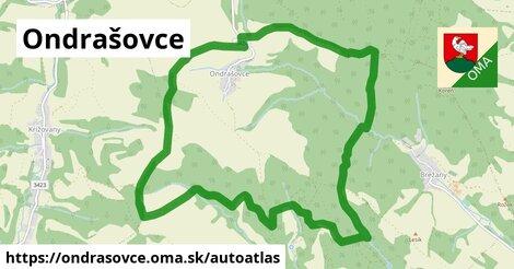 ikona Mapa autoatlas  ondrasovce