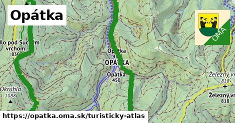 ikona Turistická mapa turisticky-atlas  opatka