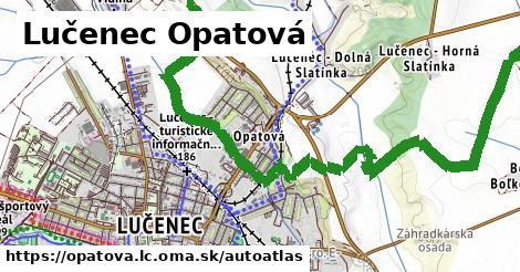 ikona Mapa autoatlas  opatova.lc