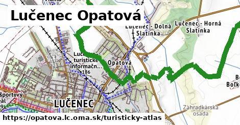 ikona Lučenec Opatová: 0m trás turisticky-atlas v opatova.lc
