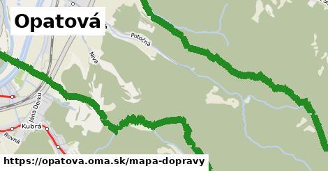 ikona Mapa dopravy mapa-dopravy  opatova