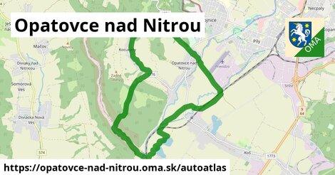 ikona Mapa autoatlas  opatovce-nad-nitrou