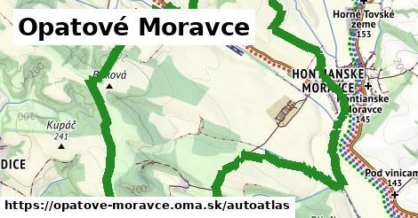 ikona Mapa autoatlas v opatove-moravce