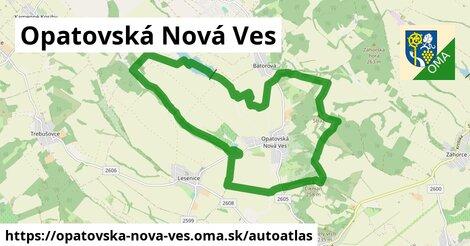 ikona Mapa autoatlas  opatovska-nova-ves