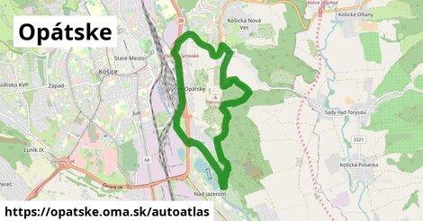 ikona Mapa autoatlas  opatske