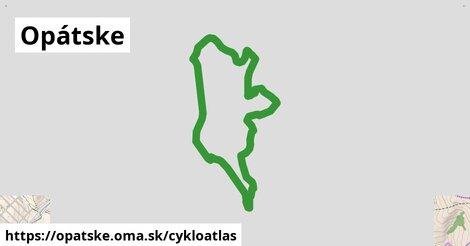 ikona Opátske: 4,8km trás cykloatlas  opatske